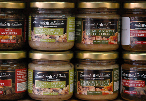 Photo de sauces aux truffes